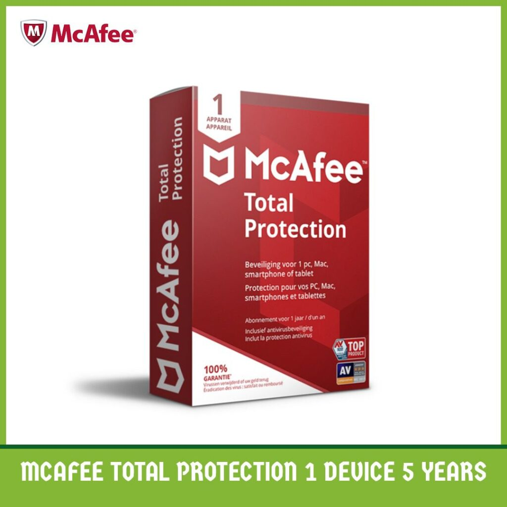 MaCfee Total Protection